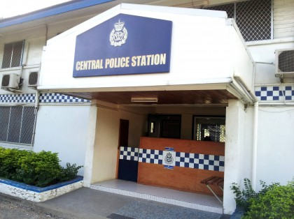 The Central Police Station. Photo credit: SIBC.