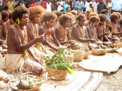 Tatalonga ceremony during the reconciliation. Photo: SIBC.