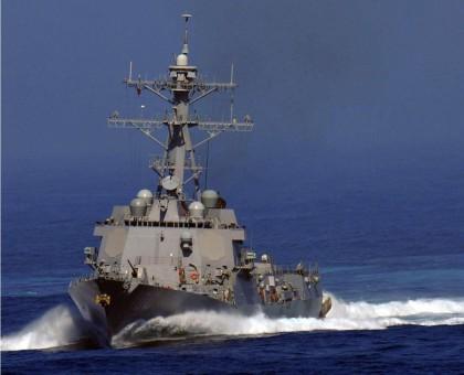 The USS KIDD (DDG100) Navy vessel will arrive in Honiara tomorrow. Photo: Courtesy of public.navy.mil