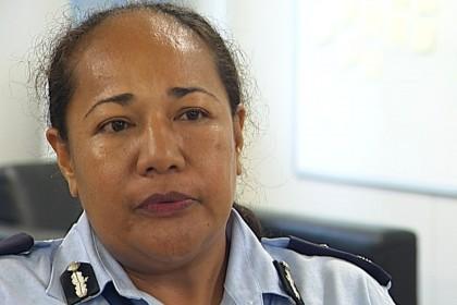 Deputy Police Commissioner, Mrs Juanita Matanga. Photo credit: SIBC.