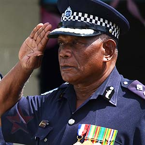 Police Commissioner elect, Peter Aoraunisaka was dismissed for his age.