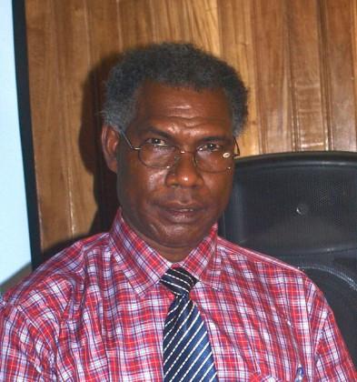 Premier Stephen Panga of Guadalcanal Province. Photo: SIBC.