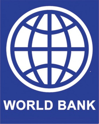 The World Bank logo. Photo credit: World Bank.
