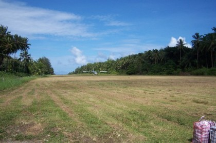 Poor ground conditions at the Kirakira airstrip in Makira Ulawa Province is causing frequent cancellations of flights to the province and Premier Thomas Weape says he is concerned for his province's traveling public. Photo: weatheroindia