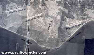Three War time runways