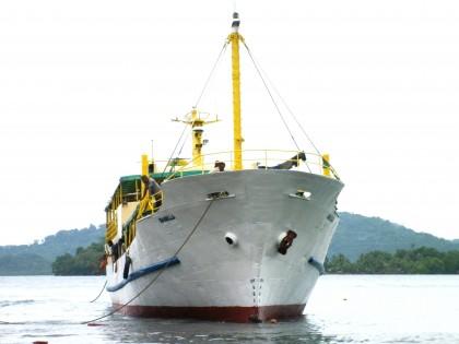 MV Isabella, one of  IDC's passenger vessels. Photo: Courtesy of IDC