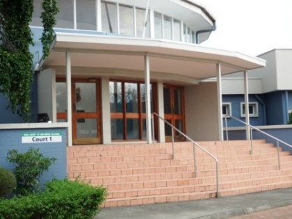 The Solomon Islands High Court. Photo credit: SIBC.