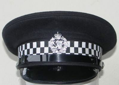 A Royal Solomon Islands Police Force cap. Photo credit: SIBC.