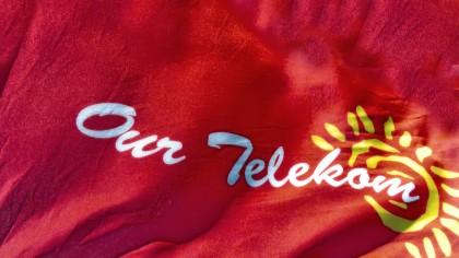 The Our Telekom logo. Photo credit: SIBC.