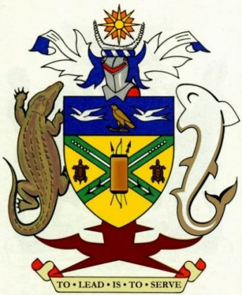 The Court of Arms of Solomon Islands. Photo credit: SIBC.