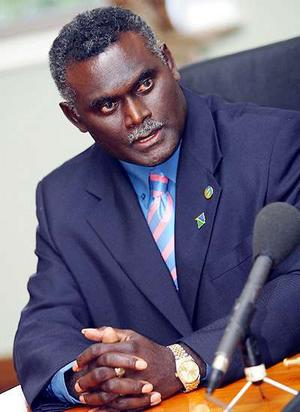 Manasseh Sogavare has commended the Parliamentary standing committees for involving people in Parliament's decision making processes. Photo: Courtesy of smh.com