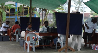Registrations has been slow and low for North Malaita. Photo: SIBC.