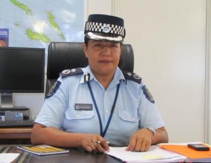 Commissioner Juanita Matanga said police have strong disciplinary measures. Photo: SIBC.