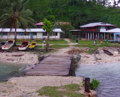 Afio port, Small Malaita. Photo credit: SIBC.