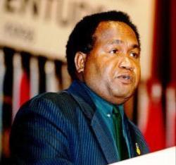 Former MP for East Kwaio Alfred Sasako. Photo credit: SIBC.