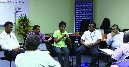 Commercial Banks meet Savings Club Workshop Participants. Photo: Courtesy of CBSI