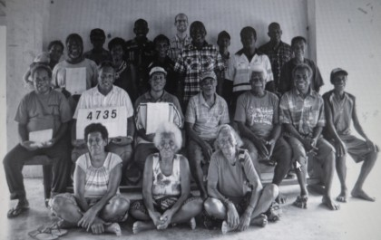 Members who attended the SITAG language workshop recently. Photo: Courtesy of SITAG
