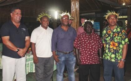 The SICCI team members with the SolTuna boss. Photo: Courtesy of SICCI.
