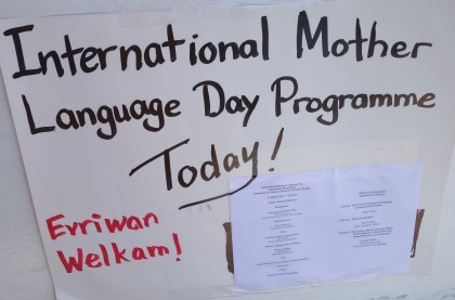Solomon Islands has marked the International Mother Language Day today. Photo: SIBC.