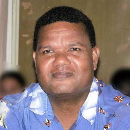 Environmental Health National Director Tom Nanau. Photo: Courtesy of arsenic.ddo