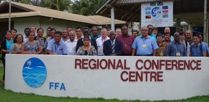 PNA officials in Honiara for the meeting. SIBC.