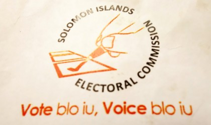 The Solomon Islands Electoral Commission official Logo. Photo: SIBC.