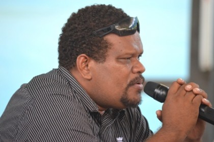 The new SINTA Secretary General Samson Faisi. Photo: SIBC