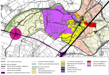 An example of land use planning. Photo: Courtesy of Cumberland.