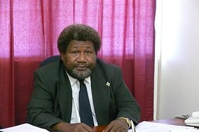 Mr. Haomae is reported to have resigned from his post in PNG. Photo: Courtesy of Radio Australia.