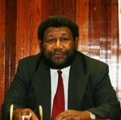 Solomon Islands High Commissioner to PNG William Haomae. Photo: Courtesy of Solomon Times online.