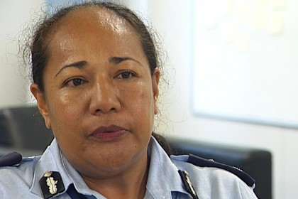 Acting Police Commissioner of Solomon Islands Police Force Juanita Matanga. Photo: Courtesy of 3news.co.nz