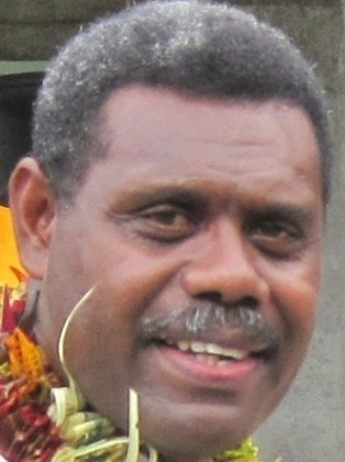 Hon. David Dei Pacha has said his constituency is not normal after the floods. Photo credit: National Parliament of Solomon Islands.