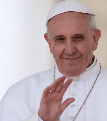 Head of the Roman Catholic Church, Pop Francis. Photo credit: Haffington Post.