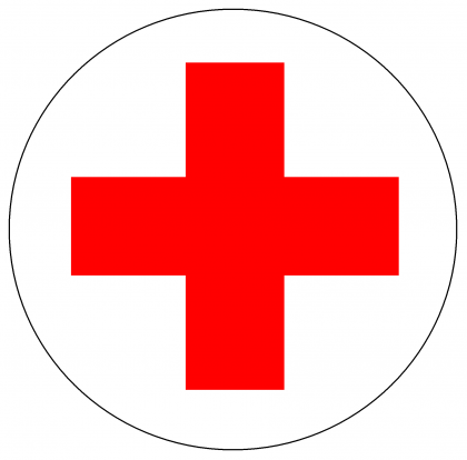 The Red Cross Logo. Photo credit: Gender Concerns.
