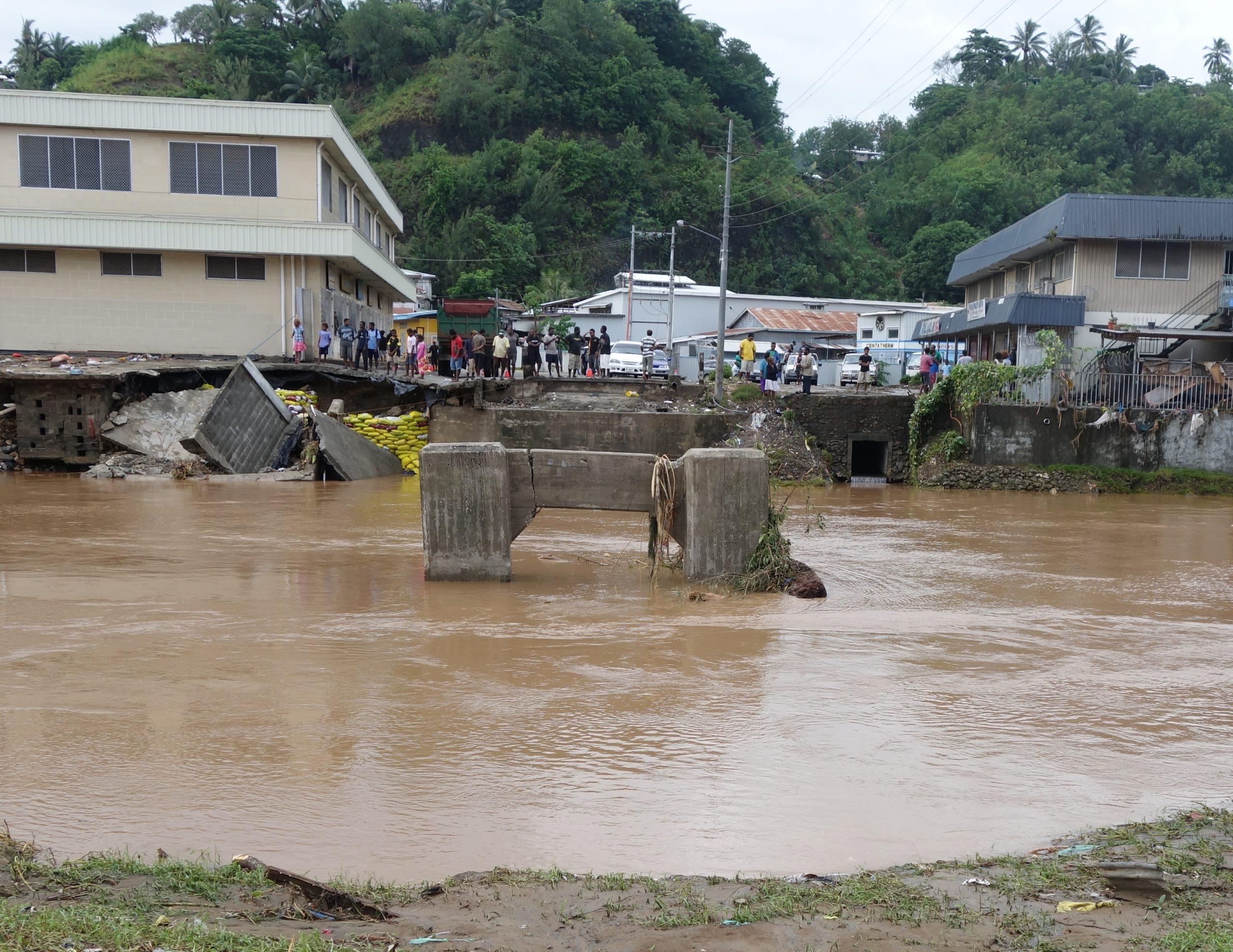 Where the old Matanikau bridge was.