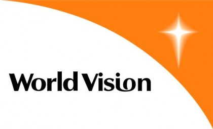 World Vision logo. Photo credit: Patheos.