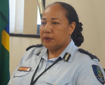 Deputy Police Commissioner Administration, Juanita Matanga. Photo credit: SIBC.