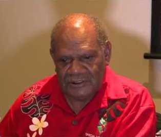 His Excellency John Patterson Oti. Photo credit: Youtube.