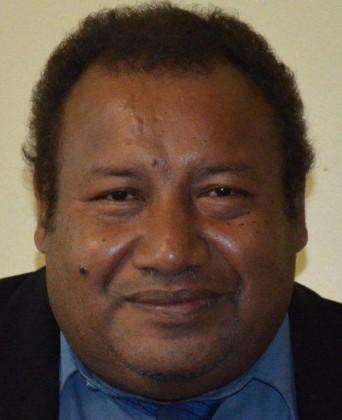 The current MP for Maringe-Kokota Varian Lonamei. Photo credit: Parliament of Solomon Islands.