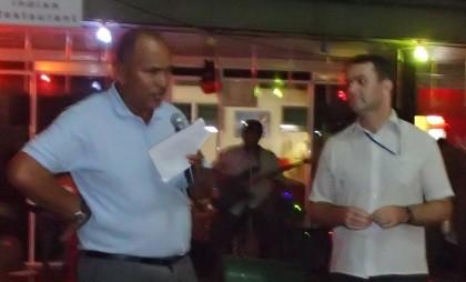 The Honiara Yacht Club's donation. Photo credit: Honiara Yacht Club.