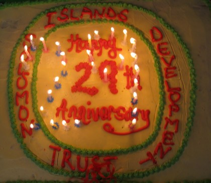 SIDT has recently celebrated its 29th birthday this year. Photo credit:Community Media Solomons.