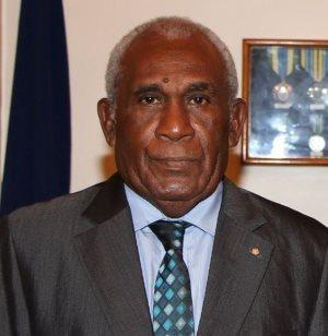 Solomon Islands Governor General Sir Frank Utu Ofagioro Kabui. Photo credit: SIBC.
