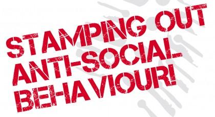 A sticker aimed at reducing anti-social behaviours. Photo credit:cymru.