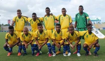 The Under 19 Solomon Mamulas team. Photo credit: Facebook.com.