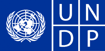 The United Nations Development Program logo. Photo credit: News Times Africa.