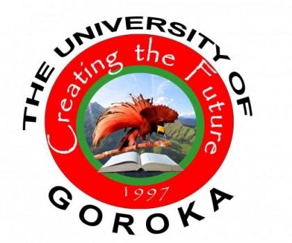 University of Goroka's official logo. Photo credit: Emmanuel Marosi.