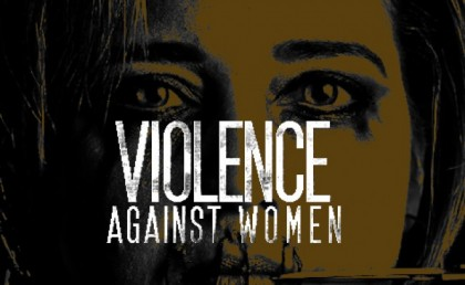 A poster on Violence against Women. Photo credit: Public Health Watch.