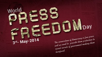 World Press Freedom Day. Photo credit: Innovative Financial Advisors.