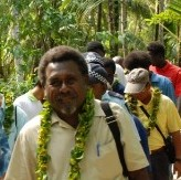 Former Chair of the former Solomon Islands College of Higher Education, Clement Kengava. Photo credit: Taiwanese Embassy.