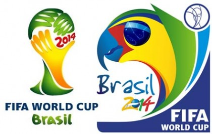 The official FIFA World Cup 2014 Brazil logo. Photo credit: sportsinvasion.